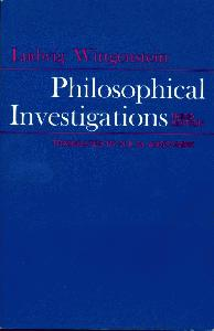 Philosophical Investigations. The English Text of the Third Edition.