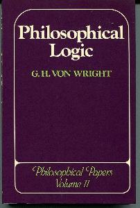 Philosophical Logic.  Philosophical Papers, Volume 2.