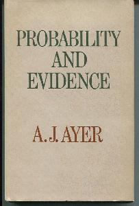 Probability and Evidence.