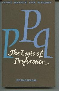 The Logic of Preference. An Essay.