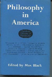 Philosophy in America.
