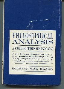 Philosophical Analysis. A Collection of Essays.