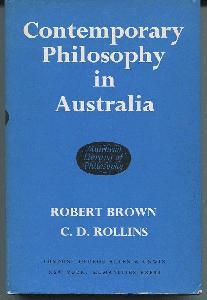 Contemporary Philosophy in Australia.
