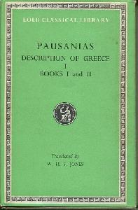 Description of Greece. Volume 1, Books 1-2. Attica and Corinth.
