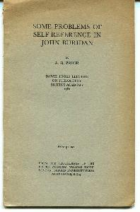 Some Problems of Self-Reference in John Buridan.