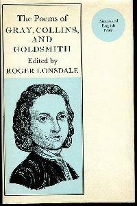 The Poems of Thomas Gray, William Collins, Oliver Goldsmith.