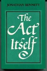 The Act Itself.