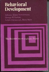Behavioral Development. The Bielefeld Interdisciplinary Project.