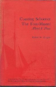 Coasting Schooner The Four-Masted Albert F. Paul.