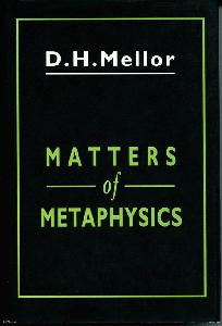 Matters of Metaphysics.