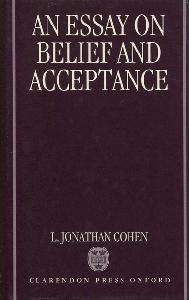 An Essay on Belief and Acceptance.