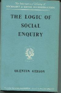 The Logic of Social Inquiry.