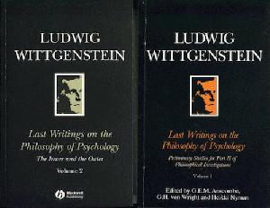 Last Writings on the Philosophy of Ludwig Wittgenstein. Volumes I and II.