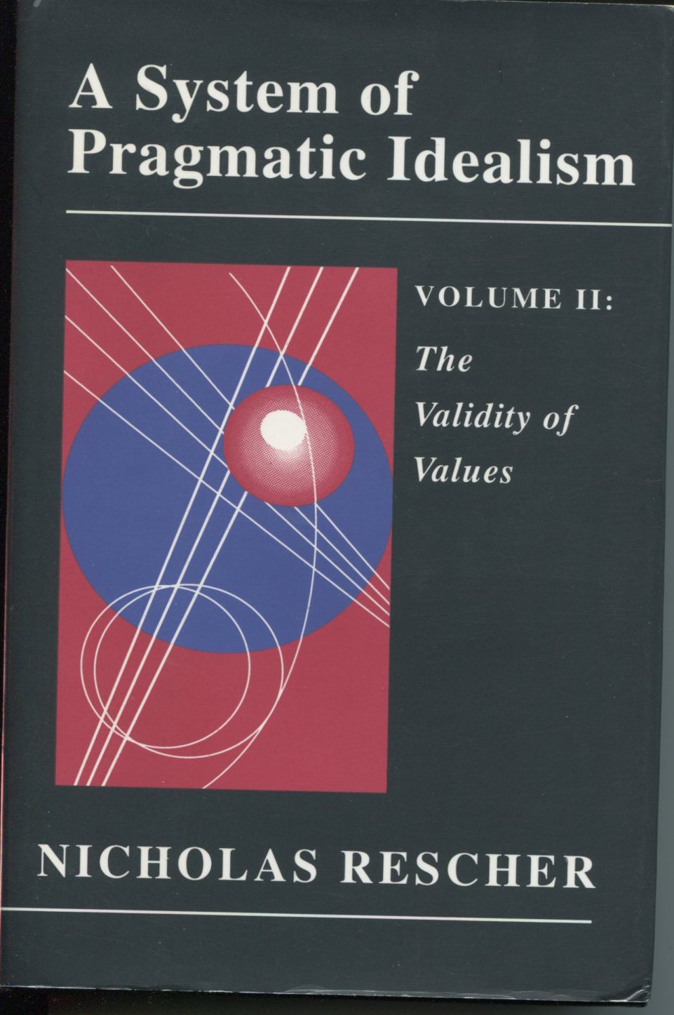 A System of Pragmatic Idealism, Volume Two. The Validity of Values. A Normative Theory of Evaluative Rationality.