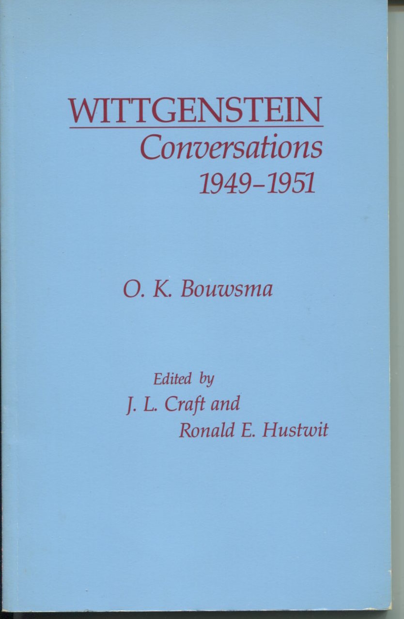 Wittgenstein Conversations 1949-1951.