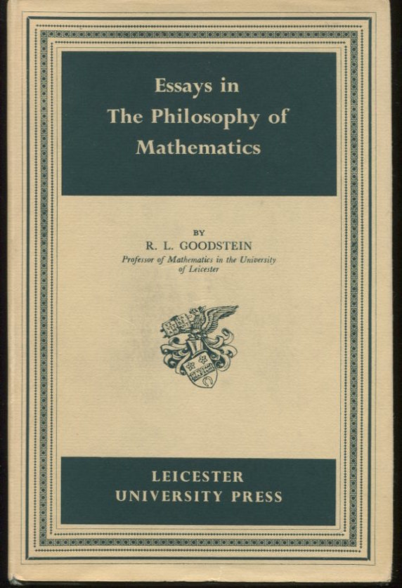 Essays in the Philosophy of Mathematics.