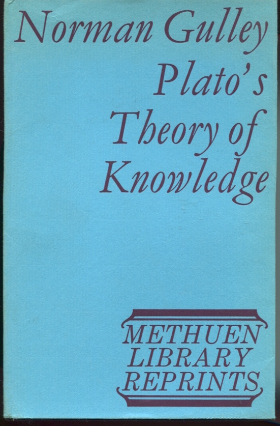 Plato's Theory of Knowledge.