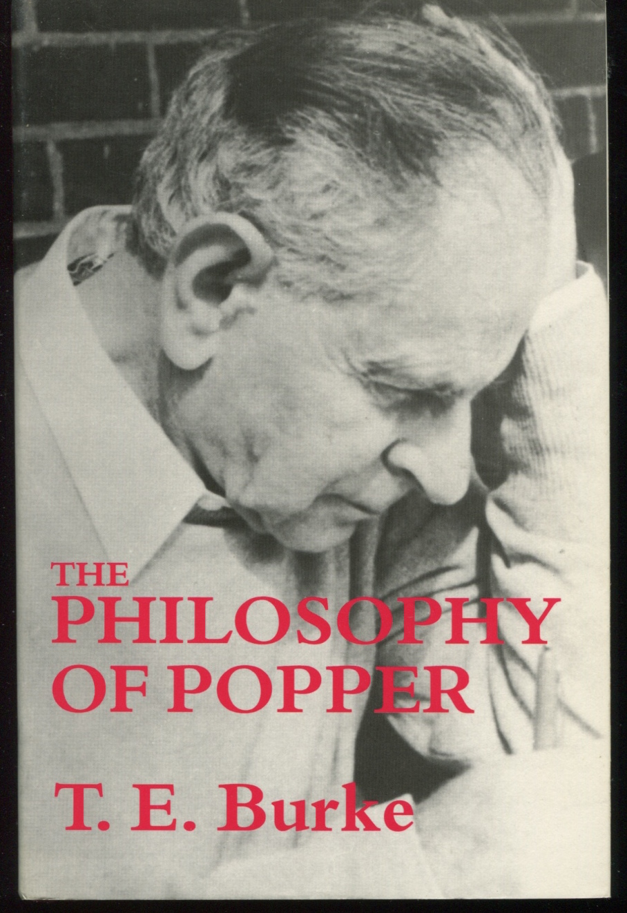 The Philosophy of Popper.