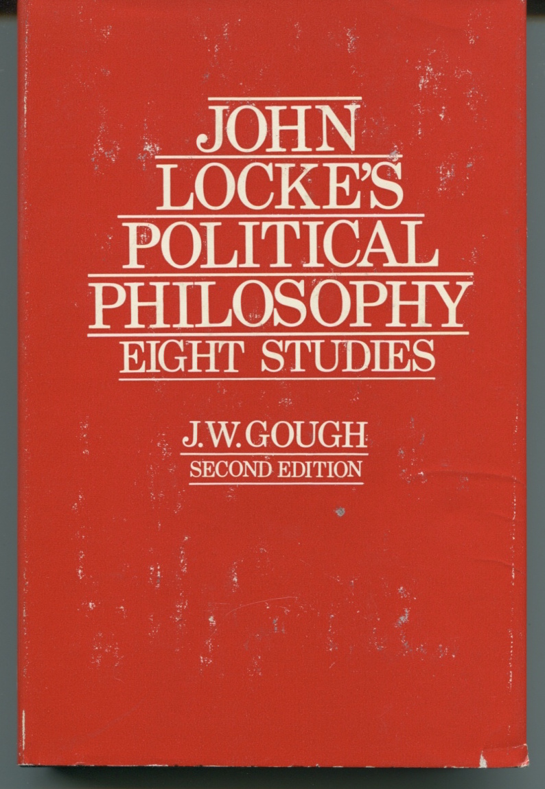 John Locke's Political Philosophy: Eight Studies.