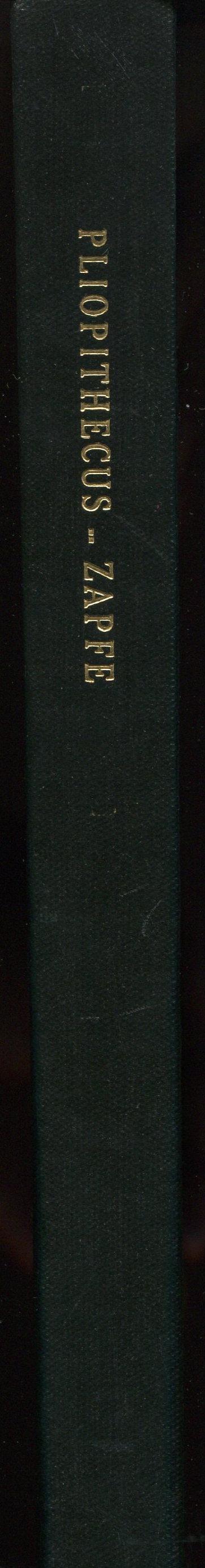 Schweizerische Palaeontologische Abhandlungen: Memoires Suisses de Paleontologie, Vol. 78: Die Primatenfunde aus der miozanen Spaltenfullung von Neudorf an der March (Devinska Nova Ves), Tschechoslowakei. Mit Anhang: Der Primatenfund aus dem Miozan von Klein Hadersdorf in Niederossterreich. Mit 115 Textfiguren and 55 Tabellen.