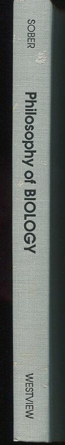 Philosophy of Biology.