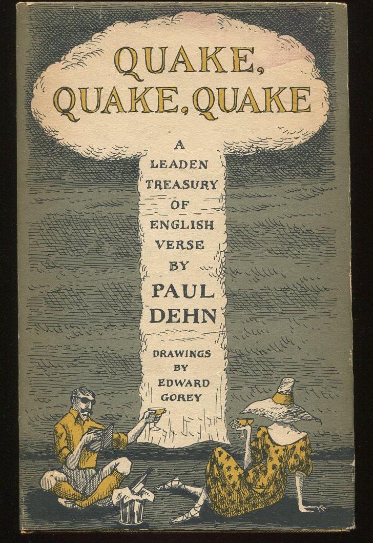 Quake, Quake, Quake. A Leaden Treasury of English Verse.