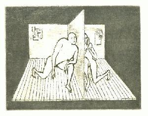Chambres D'Inquietudes. Dix Eaux-Fortes de Lars Bo.
