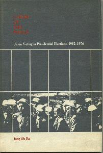 Labor at the Polls: Union Voting in Presidential Elections, 1952-1976.