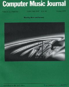Computer Music Journal. Volume 23, Number 1. Spring 1999.